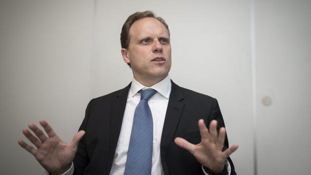 El responsable del área económica del PP, Daniel Lacalle
