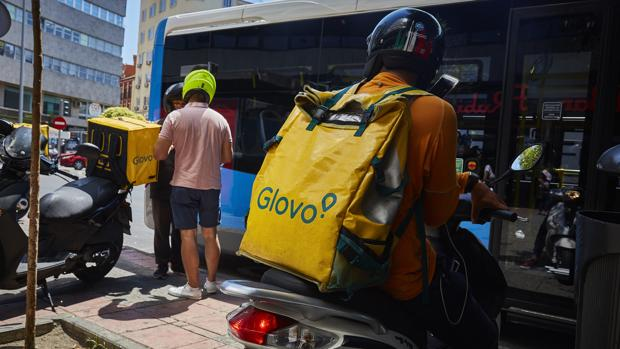 «Riders» de Glovo en Madrid