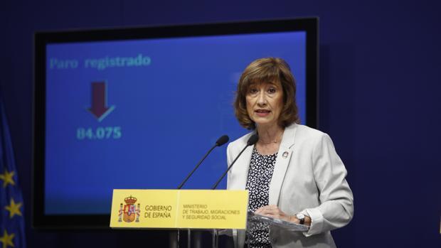 La secretaria de Estado de Empleo, Yolanda Valdeolivas