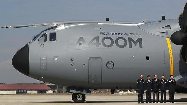 Un avión A400M