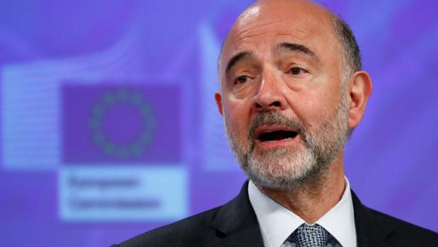 El comisario de Economía y Asuntos Financieros, Pierre Moscovici