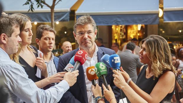Rafael Catalá fue ministro de Justicia entre 2014-2018
