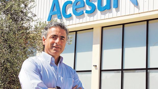 Gonzalo Guillén , director general de Acesur
