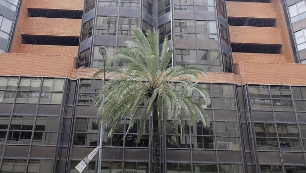 Edificio de Insur en República Argentina que se reconvertirá en hotel