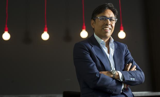 Federico Ávila, presidente de Lantania, durante la entrevista con ABC