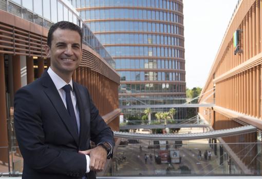Juan Carlos Gómez Galiano, nuevo gerente del complejo Torre Sevilla