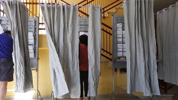 Ciudadanos ejercen su derecho al voto en los comicios anteriores