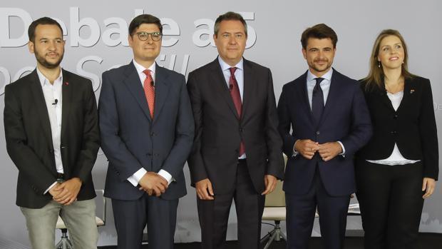 Candidatos a la alcaldía de Sevilla