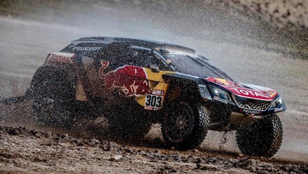 El Peugeot 3008 DKR con el que ganaron Sainz y Cruz en la última edición del rally Dakar