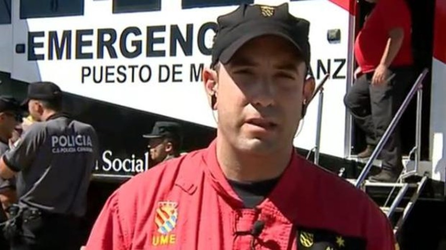 UME sobre el fin del incendio en Canarias: «muy favorable»