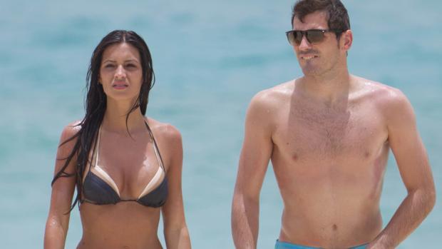 La pareja en unas vacaciones en el Caribe en 2012