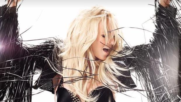 Britney Spears durante su concierto en Las Vegas