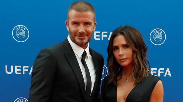 Los Beckham, en agosto de 2018