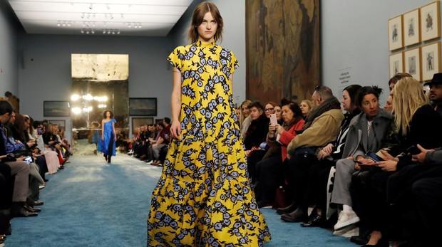 Un momento del desfile de Carolina Herrera en la Semana de la Moda de Nueva York