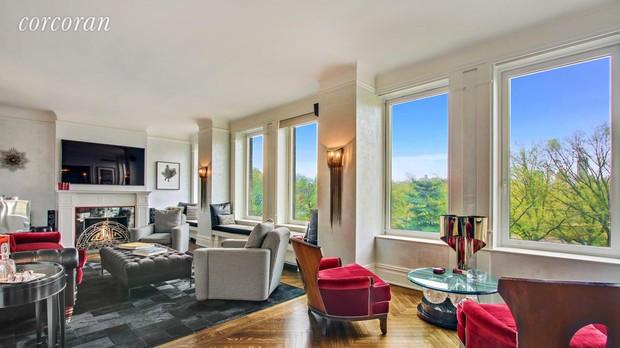 Imagen del interior del apartamento neoyorquino de Antonio Banderas
