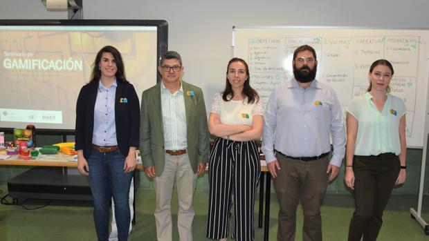Profesores del Centro de Estudios Universitarios Cardenal Spínola CEU promotores de la actividad