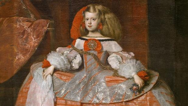 La Infanta doña Margarita de Austria, hacia 1665
