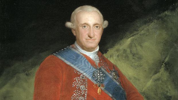 Retrato de Carlos IV, por Francisco de Goya