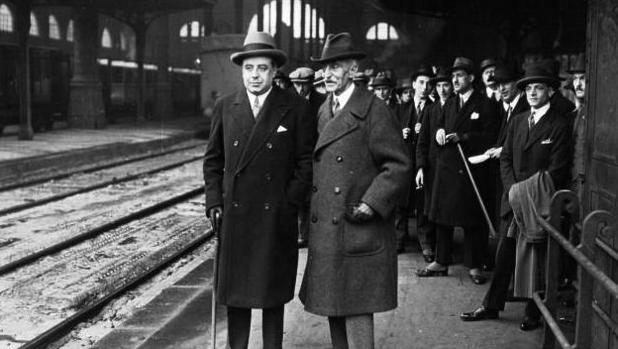 Francesc Macià en París, 1927