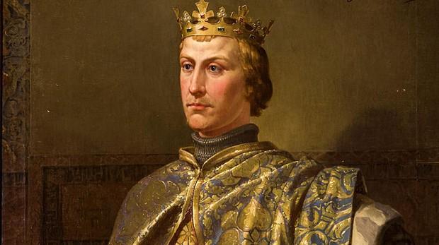 Retrato de Pedro I de Castilla, último rey de la dinastía Borgoña.