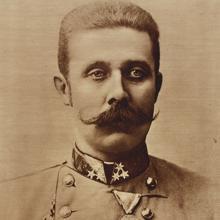 Archiduque Francisco Fernando, heredero del Imperio austrohúngaro.