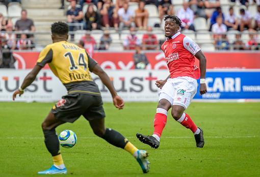 Disasi en match avec Reims