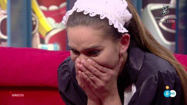 Laura, durante el concurso «GH Revolution»