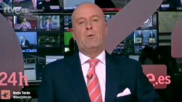 El presentador Emilio Andrés
