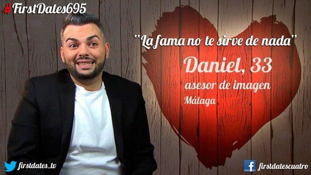 Daniel no tuvo mucha suerte en su cita de «First Dates»