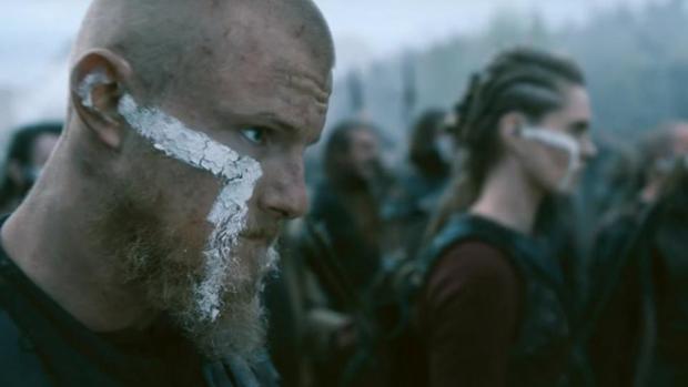 Bjorn, en el último episodio de la quinta temporada de «Vikingos»