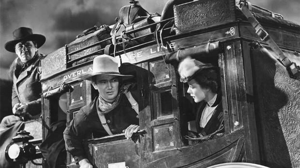 Fotograma de «La diligencia», de John Ford