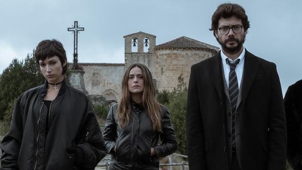 Tokio, Raquel Murillo y El Profesor en la nueva temporada de «La casa de papel»