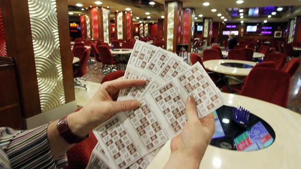 Imagen de archivo de un bingo