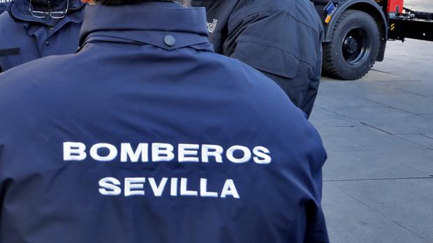 Efectivos de Bomberos de Sevilla