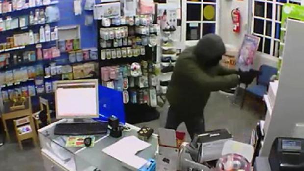 La Guardia Civil ha detenido al ladrón que intentó robar en una farmacia de Brenes