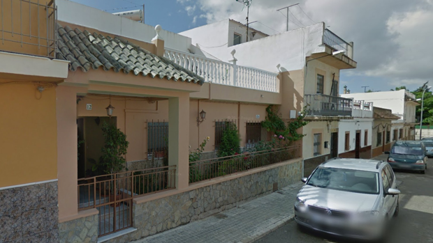 La vivienda de un vecino de El Cuervo de Sevilla que ha repelido un intento de asalto