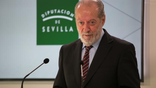 Fernando Rodríguez Villalobos, presidente de la Diputación de Sevilla