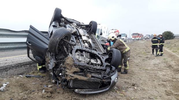 A pesar de las campañas preventivas los accidentes se siguen sucediendo en las carreteras