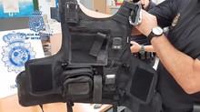 Detenidos dos falsos vigilantes trabajando en una empresa autorizada con armas en una finca de Setenil de las Bodegas