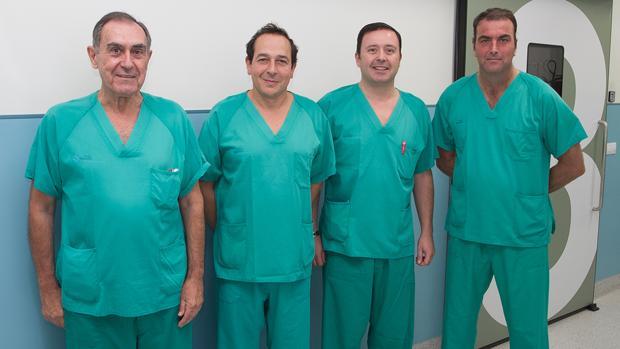 modelo de procedimiento de biopsia de próstata