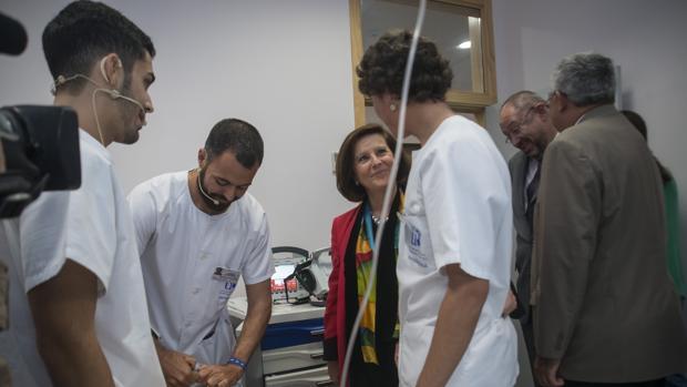El enfermero es un profesional cercano al paciente y del que depende en gran medida su confort