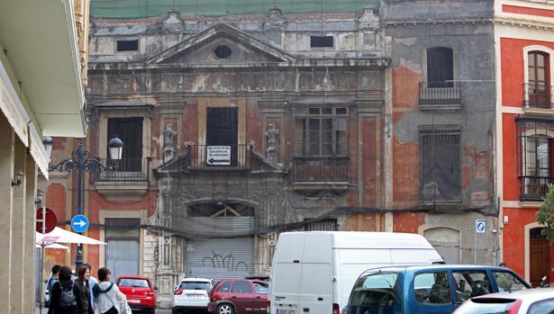 Las obras en la Casa de la Moneda están paralizadas desde enero de 2011