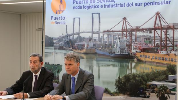 Manuel Garcia y Angel Pulido en rueda de prensa