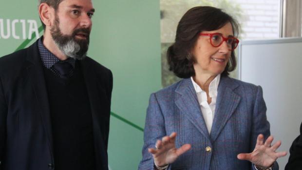 La consejera de Justicia e Interior Rosa Aguilar