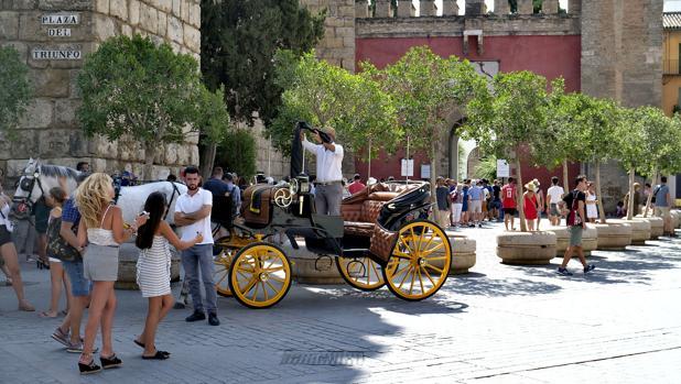 El Alcázar es uno de los monumentos más visitados de España