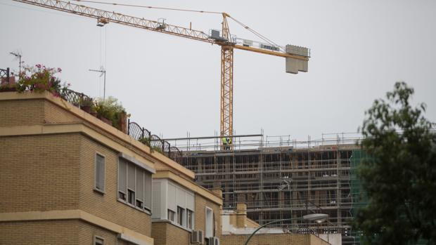 Una de las promociones en construcción de Sevilla