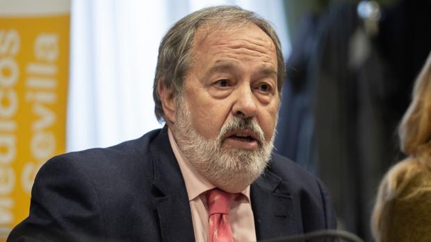 Alfonso Carmona es el presidente del Colegio de Médicos de Sevilla