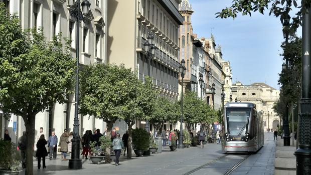 La Avenida de la Constitución de Sevilla