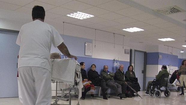 Sala de espera de Urgencias del Hospital Macarena