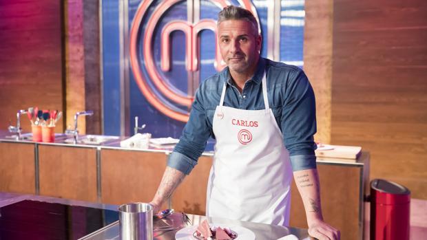 Carlos, en las cocinas de «MasterChef»